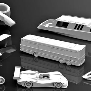 3D打印概念原型,3d打印模型