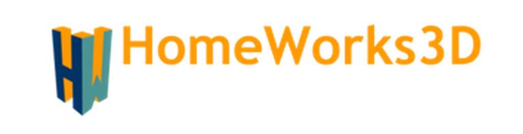 HomeWorks3D's logo